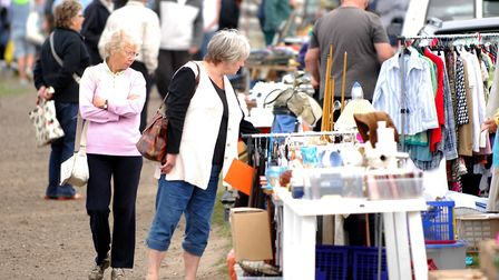 Arminghall Car Boot Sale for EDP Recycling Magazine.PHOTO: ANTONY KELLYCOPY:FOR:EDP recycling mag© A