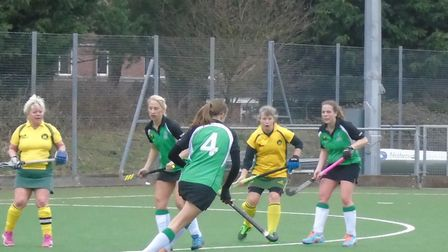 Catherine Brewster takes the game to the opposition as Broadland make absolutely sure of the Empresa