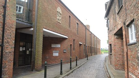 King's Lynn Magistrates Court, where Army tank driver Ryan Pell, from Clenchwarton, was convicted of