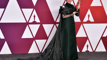 Olivia Colman, winner of the Best Actress In A Leading Role Award for The Favourite. Picture Alberto