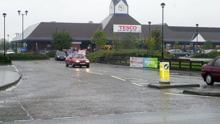 The Tesco store at Blue Boar Lane. Picture: Archant.