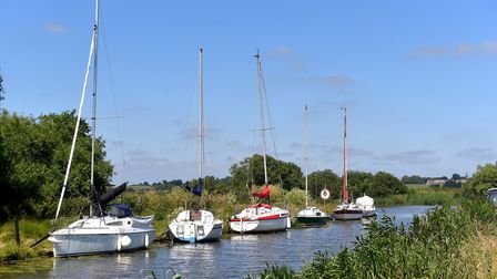 The Norfolk Broads near Langley. Picture: Nick Butcher