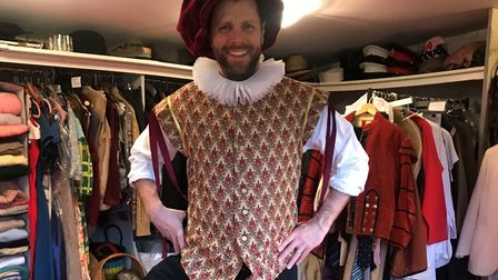 Nick Potts is set to morris dance from London to Norwich in memory of his friend Josh Mills. Picture