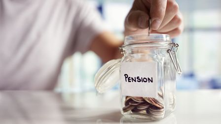 The pension contribution percentage will rise in April. Picture: Getty Images/iStockphoto