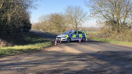 Dereham Road in Scarning, near Dereham, has reopened following a serious single vehicle collision. P