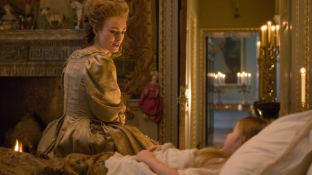 """""""The Duchess"""" with Keira Knightley - this scene was filmed inside Holkham Hall in Norfolk Photo: Pat"""