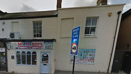 The Seven Days Store on London Road, King's Lynn Picture: Google