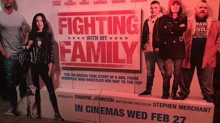 Fighting with My Family premiered at Norwich's Cinema City. Picture: Victoria Pertusa