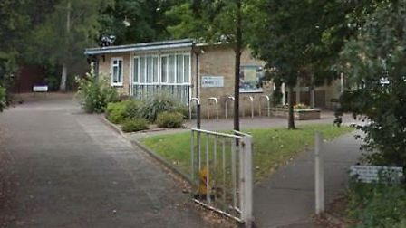 Attleborough Library could be moved. Pic: Google.