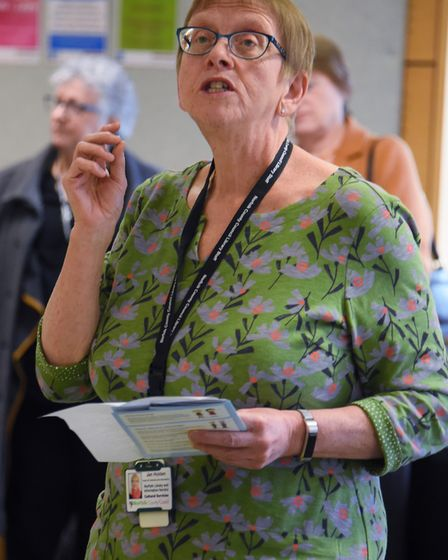 Jan Holden, head of libraries at Norfolk County Council. Picture: DENISE BRADLEY