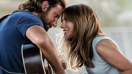 Bradley Cooper as Jackson Maine and Lady Gaga as his protege Ally in the remake of the Hollywood cla
