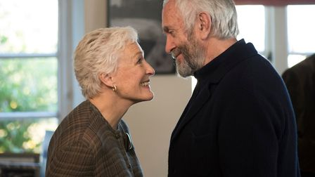 The Wife. Pictured: Glenn Close as Joan Castleman and Jonathan Pryce as Joe Castleman. Picture: PA
