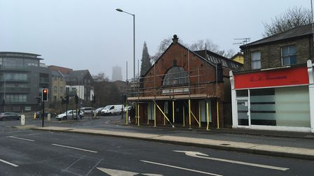 The rage room will be located within a former gospel hall on Dereham Road. Photo: Luke Powell