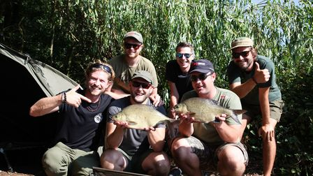 The team at Angling Direct's Rackheath store. Picture: Angling Direct