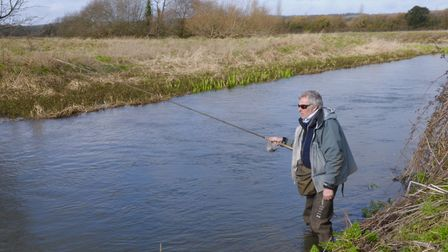 Light gear is a must on low, clear rivers, especially for big wild fish Picture: John Bailey