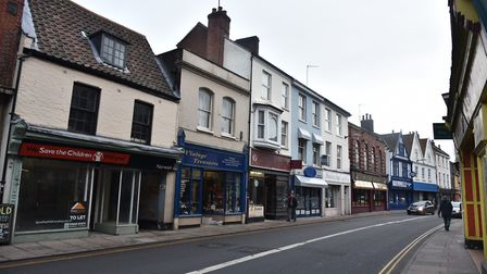Jack Place appeared in court after he threatened to bite off the head of a Magdalen Street shop work