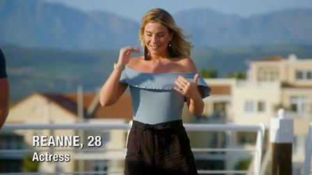 Reanne Brown from Norwich on The Bachelor UK Credit: The Bachelor UK/Channel 5