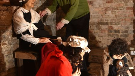 Wymondham Museum reopens for the new season.A new prisoner display in the cellars.