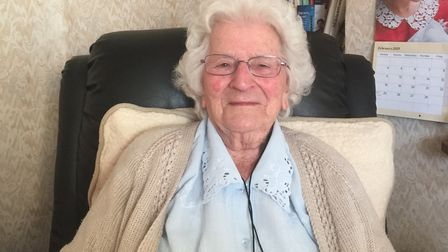 Norwich great-great-grandmother Lily Barnes celebrated her 100th birthday at the social club she hel