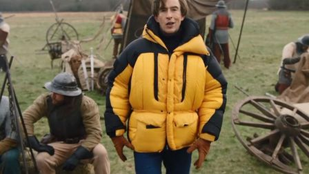 Alan Partridge re-enacts the 1381 Battle of North Walsham Picture: BBC
