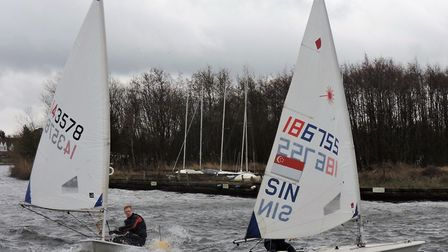 Action from Snowflake Sailing Club Picture:Paddy Wildman