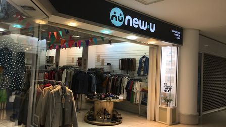 The 'swap shop' at New U, Castle Mall. Pic: Archant.