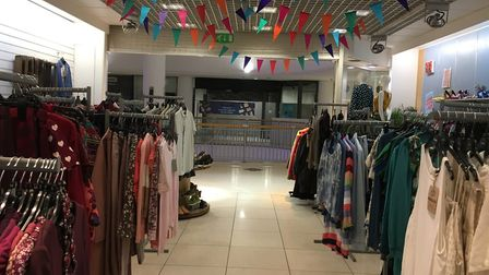 Plenty of choice for all occasions; the store at New U, Castle Mall. Pic: Archant