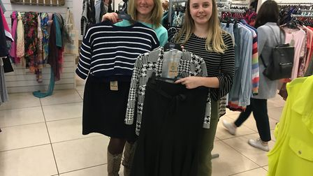 Sue Buffin and Caitlin Seale, directors at New U, Castle Mall. Pic: Archant.
