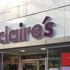 Claire's has removed items due to an asbestos alert. Picture: Thomas Chapman.