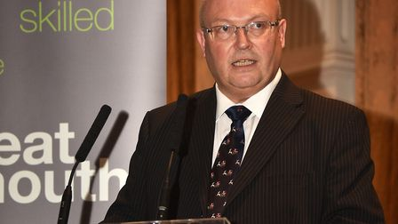 Graham Plant, leader of Great Yarmouth Borough Council, has welcomed the plans. Picture: ANTONY KEL