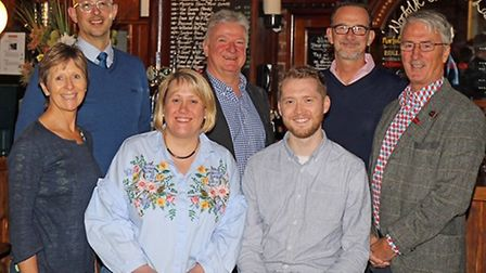 The new owners and management team of The Last Wine Bar: (from left) Lynda Baxter, Mark Loveday, Emm