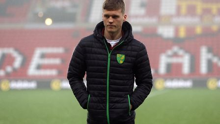Sean Raggett has returned to Norwich City from his loan spell at Rotherham Picture: Paul Chesterton/