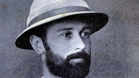 The Reverend Oliver Tomkins, who died at the hands of natives in Papua New Guinea. Picture: EDP Libr