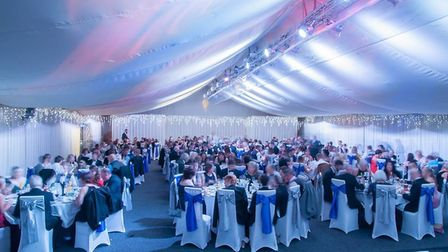 The ball was held at the Sprowston Manor Hotel & Country Club and over 260 guests attended. Picture: