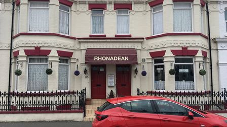 """Kitchen and communal facilities at Rhonadean in Great Yarmouth were described as """"very inadequate"""" b"""