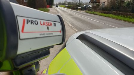 Police have been out in villages in South Norfolk to carry out checks for rogue drivers. Picture: No
