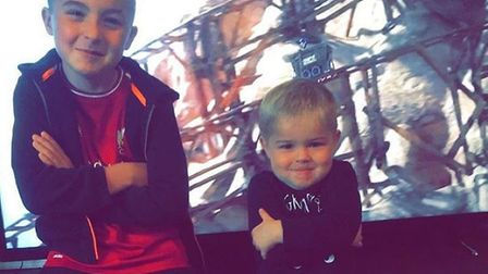 Kayden and Kobie Slater, six and three, have both attended School Lane Pre-school in Sprowston. Thei