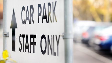 Norwich City Council is being called on to bring in a workplace parking levy. Picture: Nick Butcher