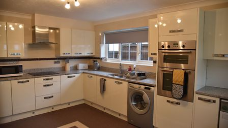 The kitchen of one of the new homes. Pic: Sonya Duncan.