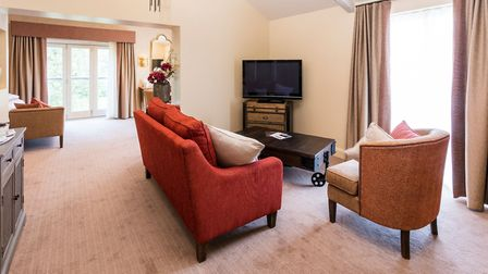 The suite Aimee Ghent stayed in. Photo: Park Farm Country Hotel