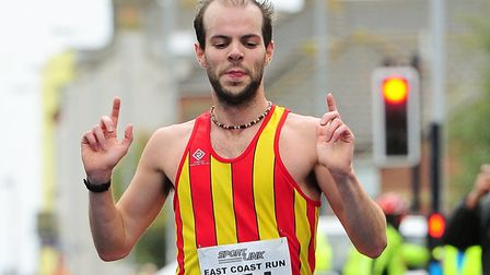 Nick Earl has made excellent progress as a marathon runner in recent years. Picture: Archant