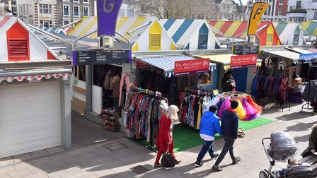 The other Curator Stall, Norwich Market. PICTURE: Jamie Honeywood