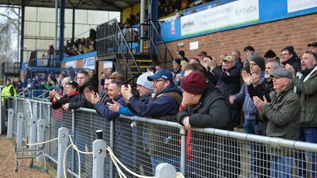 King's Lynn Town fans had plenty to cheer PICTURE: Jamie Honeywood