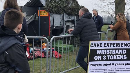 The Cave Experience at the Fortnite Live event at the Norfolk Showground. Picture Justine Petersen.