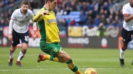 Kenny McLean was the fifth Norwich City player to attempt to score a penalty this season, but missed