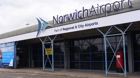 Generic views of Norwich Airport. Picture: DENISE BRADLEY