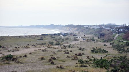 A body has been found on Pakefield Beach. PICTURE: Jamie Honeywood