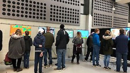 People at the Fortnite Live event at the Norfolk Showground. Picture Jane Barron.