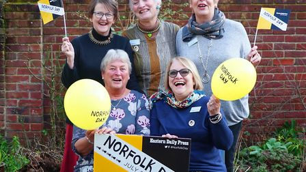 Norwich WI celebrate Norfolk day. Picture: Brittany Creasey