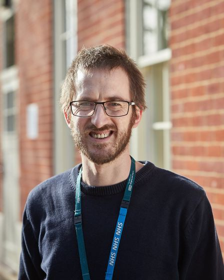 Michael Jenkins, from Dereham, has just started his mental health nursing training with Norfolk and